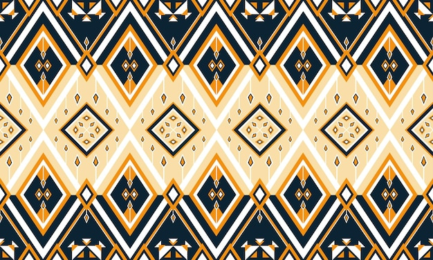 Geometric ethnic pattern embroidery .carpet,wallpaper,clothing,wrapping,batik,fabric,vector illustration embroidery style.