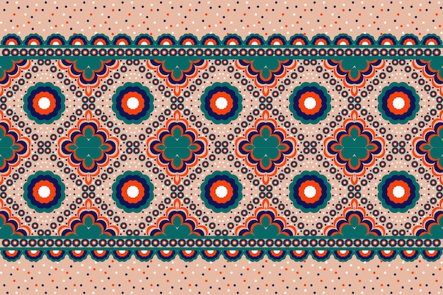 Geometric ethnic pattern oriental. seamless pattern for fabric, background, wallpaper