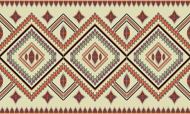 Geometric ethnic pattern oriental. seamless pattern