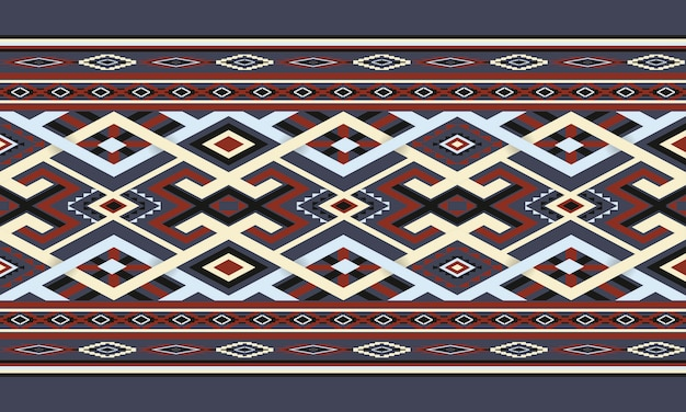 Geometric ethnic pattern oriental. seamless pattern.