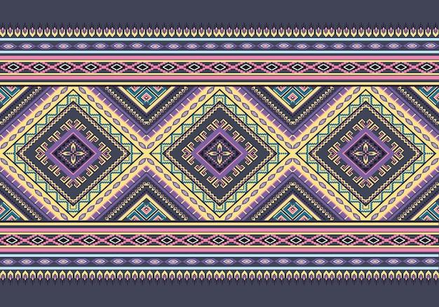 Geometric ethnic pattern oriental. seamless pattern.