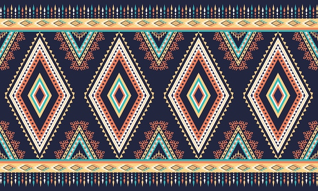 기하학적 인 에스닉 패턴 동양. 완벽 한 패턴입니다.