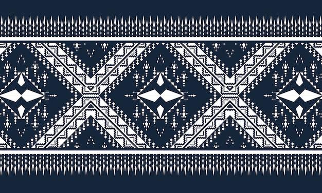 幾何学的な民族パターンオリエンタル。シームレスなパターン。