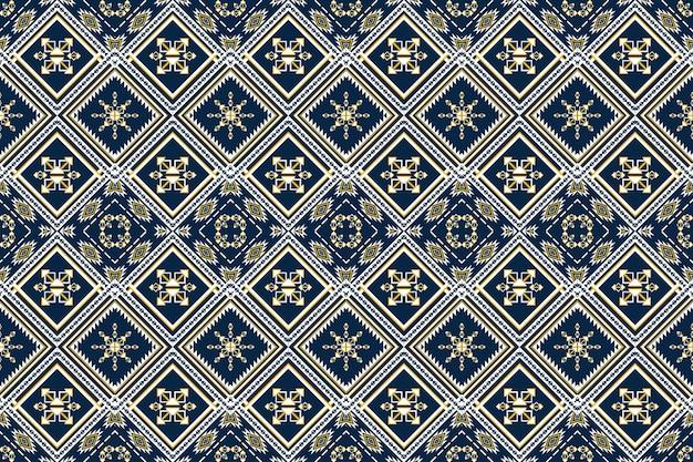幾何学的な民族パターンオリエンタル