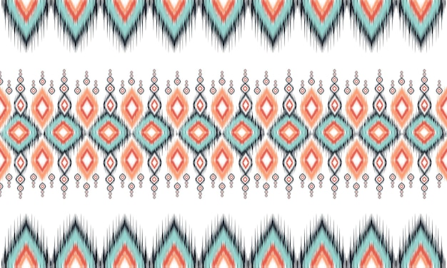 기하학적 인 에스닉 패턴 오리엔탈