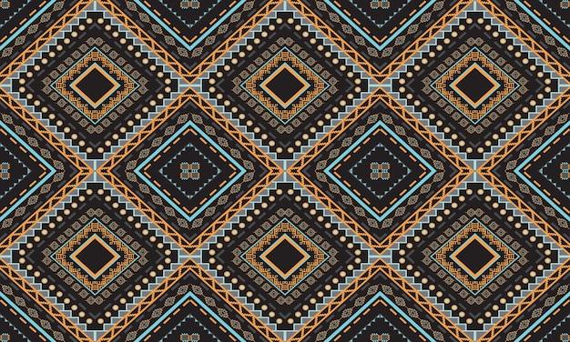 幾何学的な民族パターン
