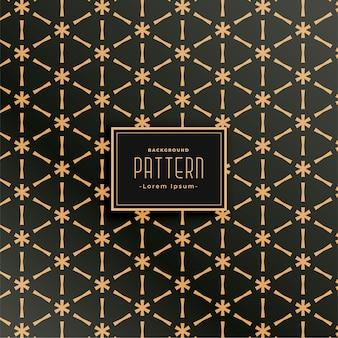 삼각형 모양 스타일로 설정된 기하학적 패브릭 패턴