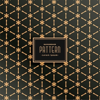 Geometric fabric pattern set in triangle shape style
