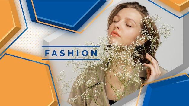 Arte del canale di youtube di moda geometrica