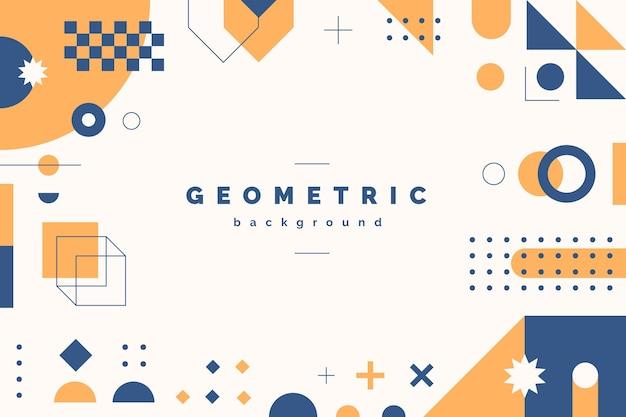 Геометрический плоский абстрактный фон