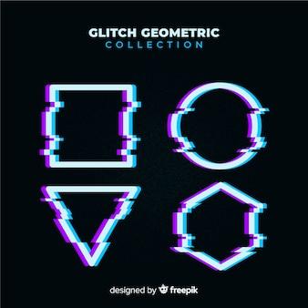 Geometric glitch collection