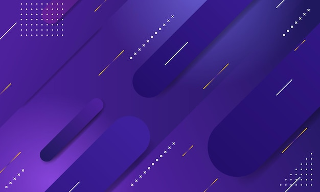 Геометрический градиент фона. композиция динамических фигур