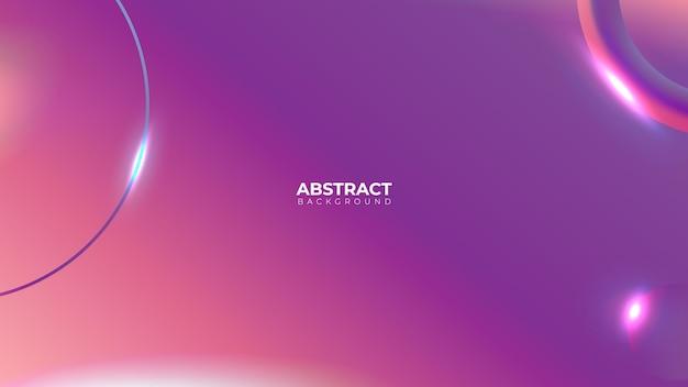 幾何学的なグラデーションの概念抽象的な背景の現実的なベクトル。ダイナミックなデザイン。デジタルグラフィック流体