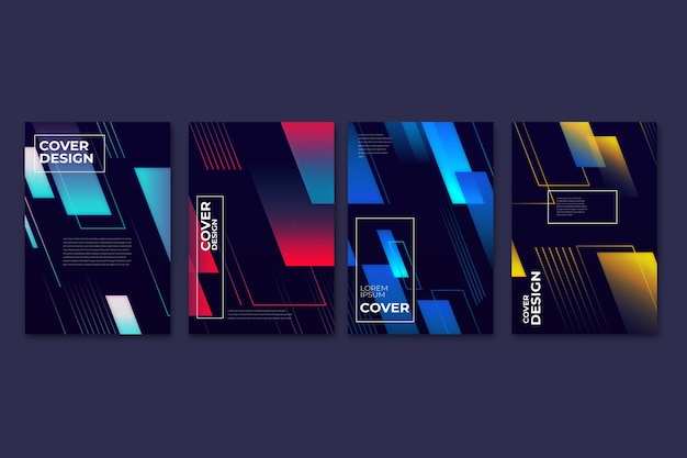 Geometric gradient models covers
