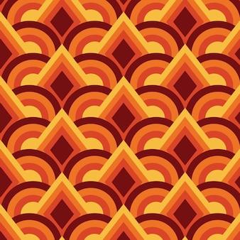 Геометрический узор заводной