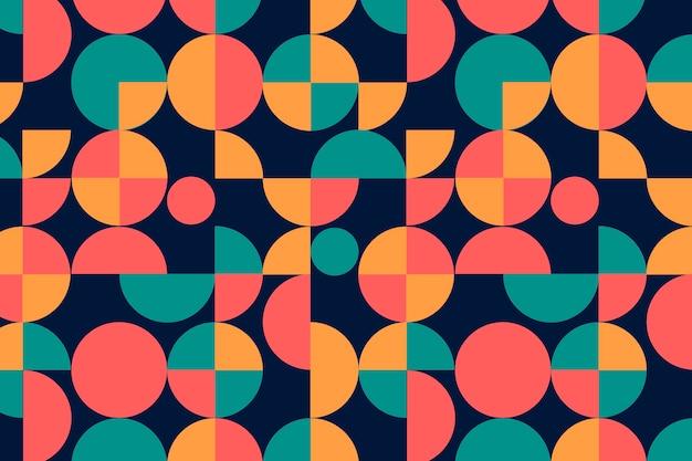 Motivo geometrico groovy senza soluzione di continuità