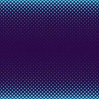 幾何学的なハーフトーンドットパターンの背景 - さまざまなサイズの円を持つベクトルグラフィック