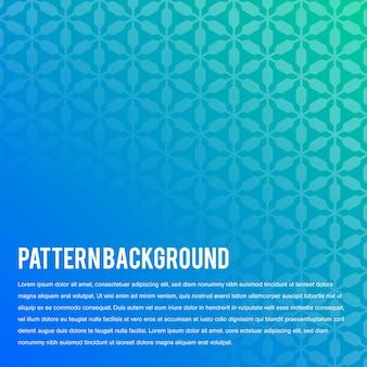 Geometric hexagon gradients.