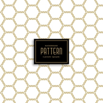 Geometric hexagonal abstract pattern background