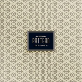 기하학적 육각 및 삼각형 모양 패턴 세트