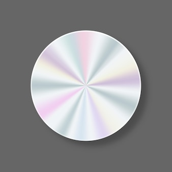 Геометрическая голографическая этикетка для дизайна гарантия на продукцию дизайн стикеров