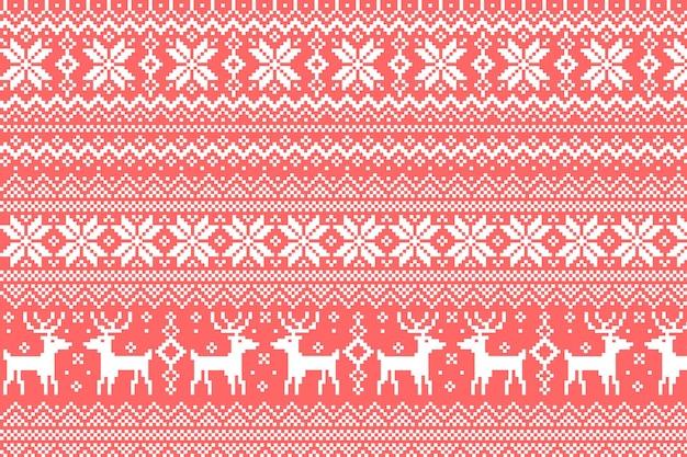 Geometric ikat pattern design for background carpet wallpaper clothing wrap batik vector images