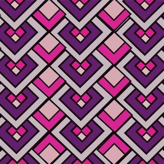 抽象的なパターンデザインの背景の幾何学