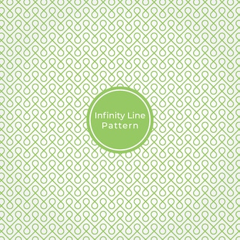 Geometric infinity line abstract pattern background
