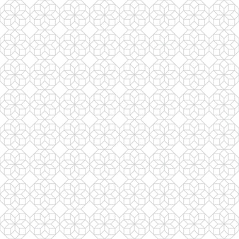 Geometric line abstract seamless pattern