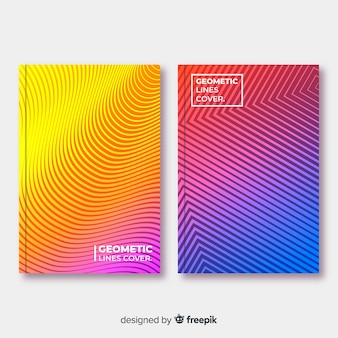 Geometric line cover collection