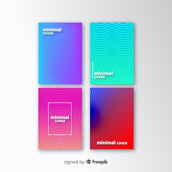 Geometric lines cover collection