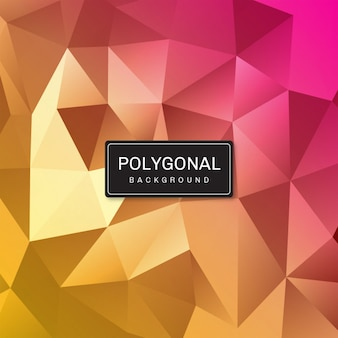 Geometric low poly texture background