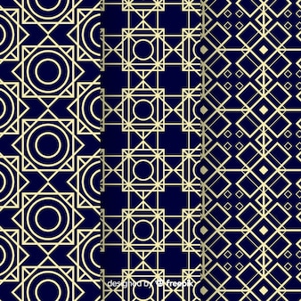 Geometric luxury pattern assortment