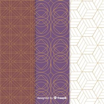 Geometric luxury pattern collection