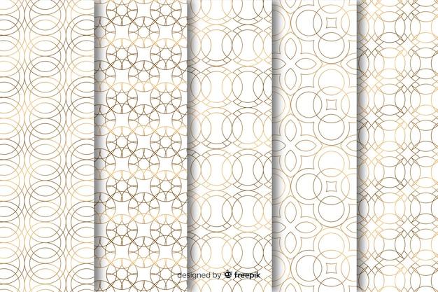 기하학적 인 고급 패턴 컬렉션