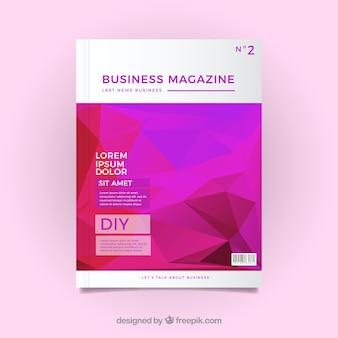 Copertina di una rivista geometrica