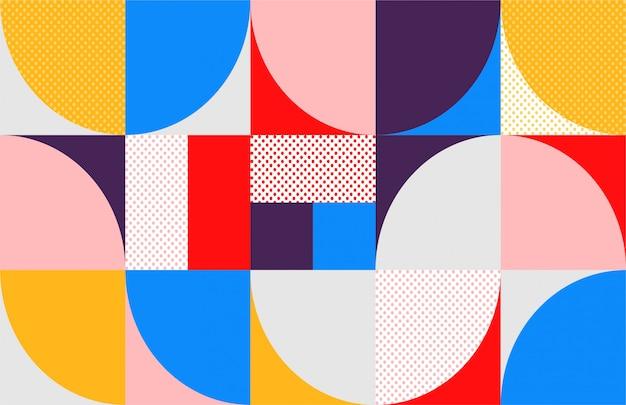 Геометрическая середина века абстрактный фон