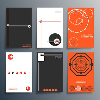 Geometric minimal design for flyer, poster, brochure cover, background, wallpaper, typography, or other printing products. vector illustration.