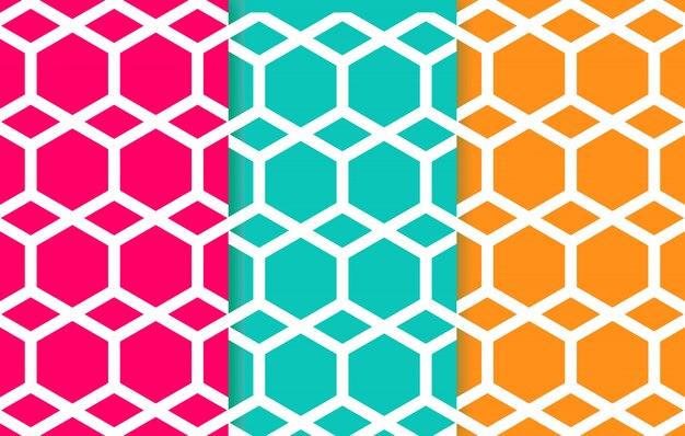 幾何学的な最小線パターン