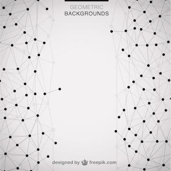 Geometric modern triangle background