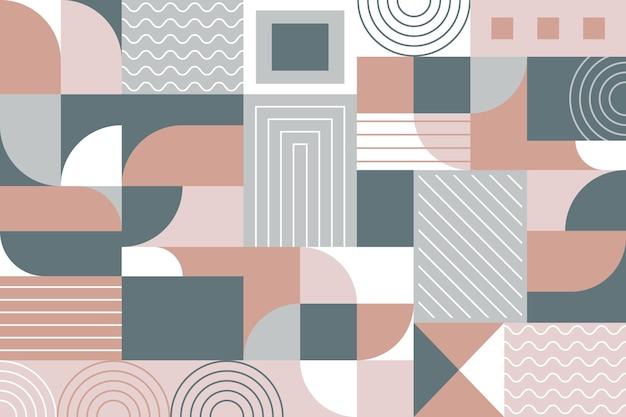 Sfondo murale geometrico