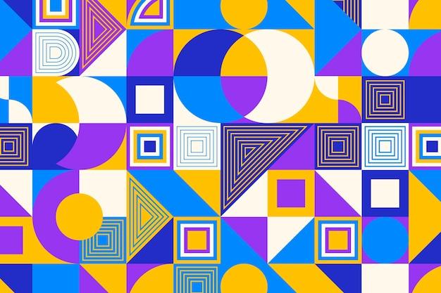 Обои с геометрическим рисунком