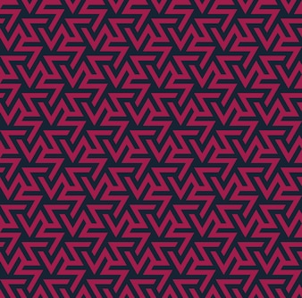 Geometric ornament. Abstract seamless pattern