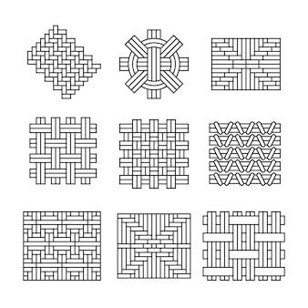 幾何学的装飾品