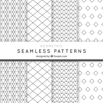 Geometric pack of patterns