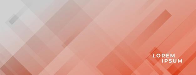 斜めの線で幾何学的なパステルカラーのバナー