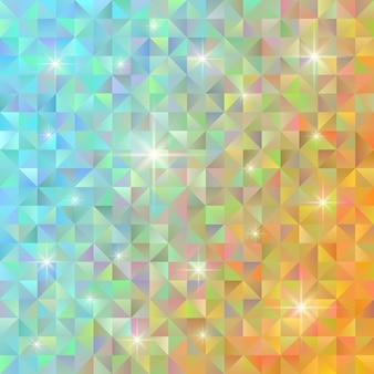 기하학적 패턴. 추상적 인 배경. 다각형 저 폴리