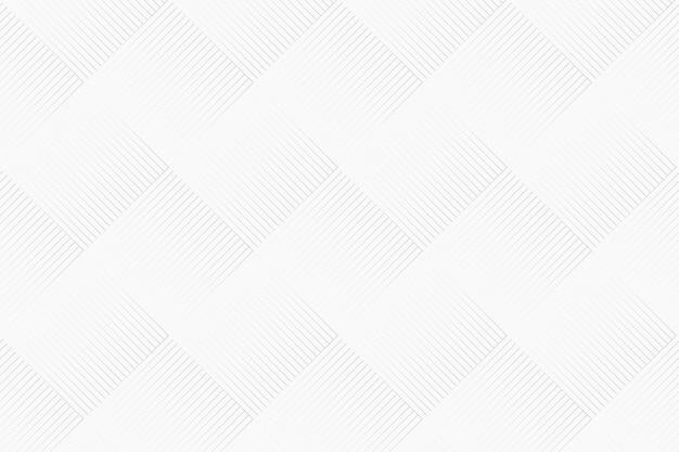 白の幾何学模様の背景ベクトル 無料ベクター