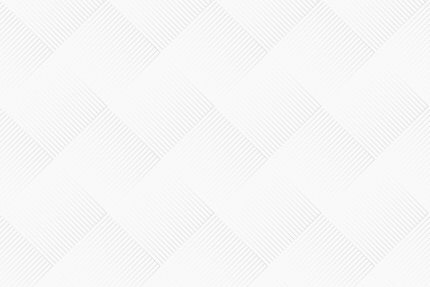 Geometric pattern background vector in white