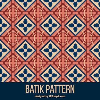 Geometric pattern in batik style